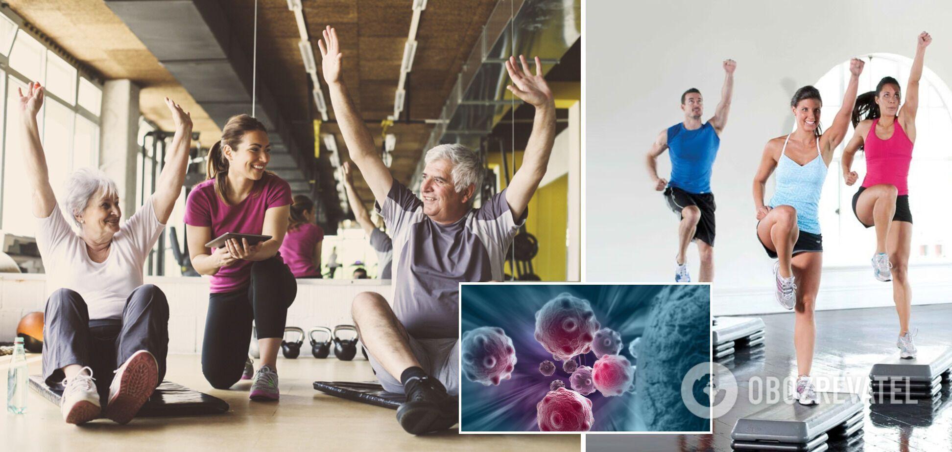 Вчені знайшли зв'язок між силовими навантаженнями й зниженням розвитку раку