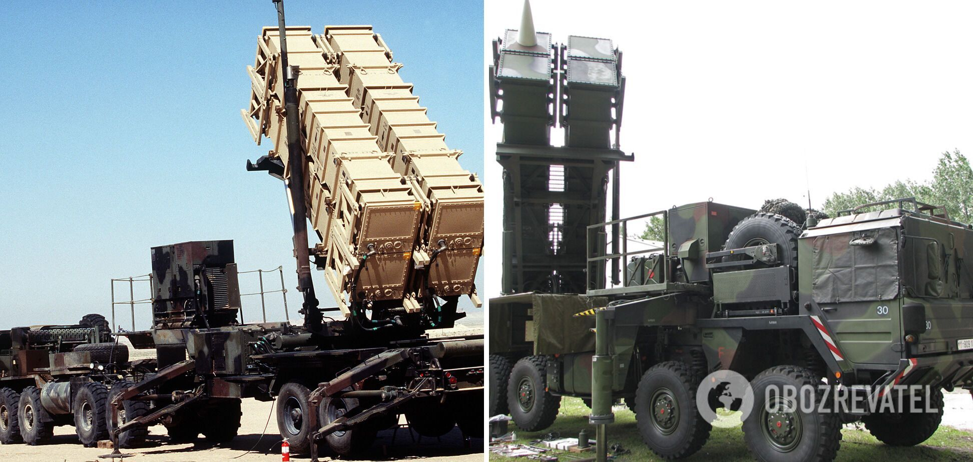 ЗРК MIM-104 Patriot