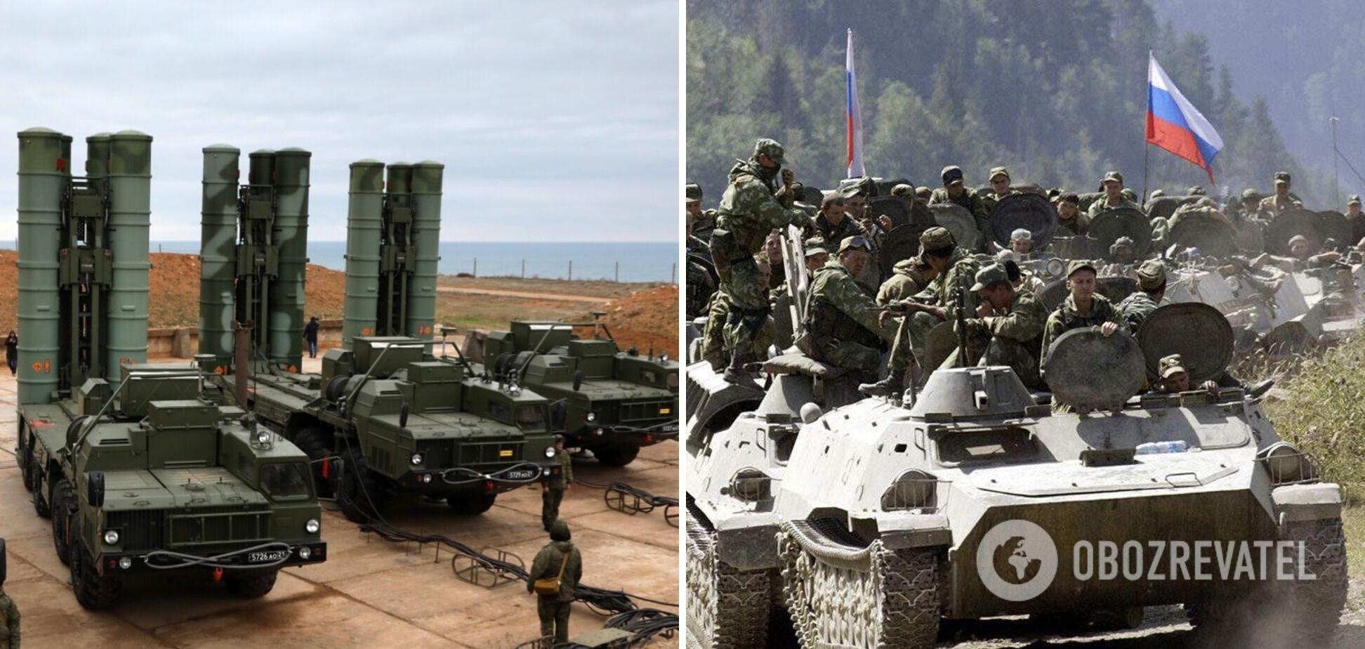 Російські війська в окупованому Криму