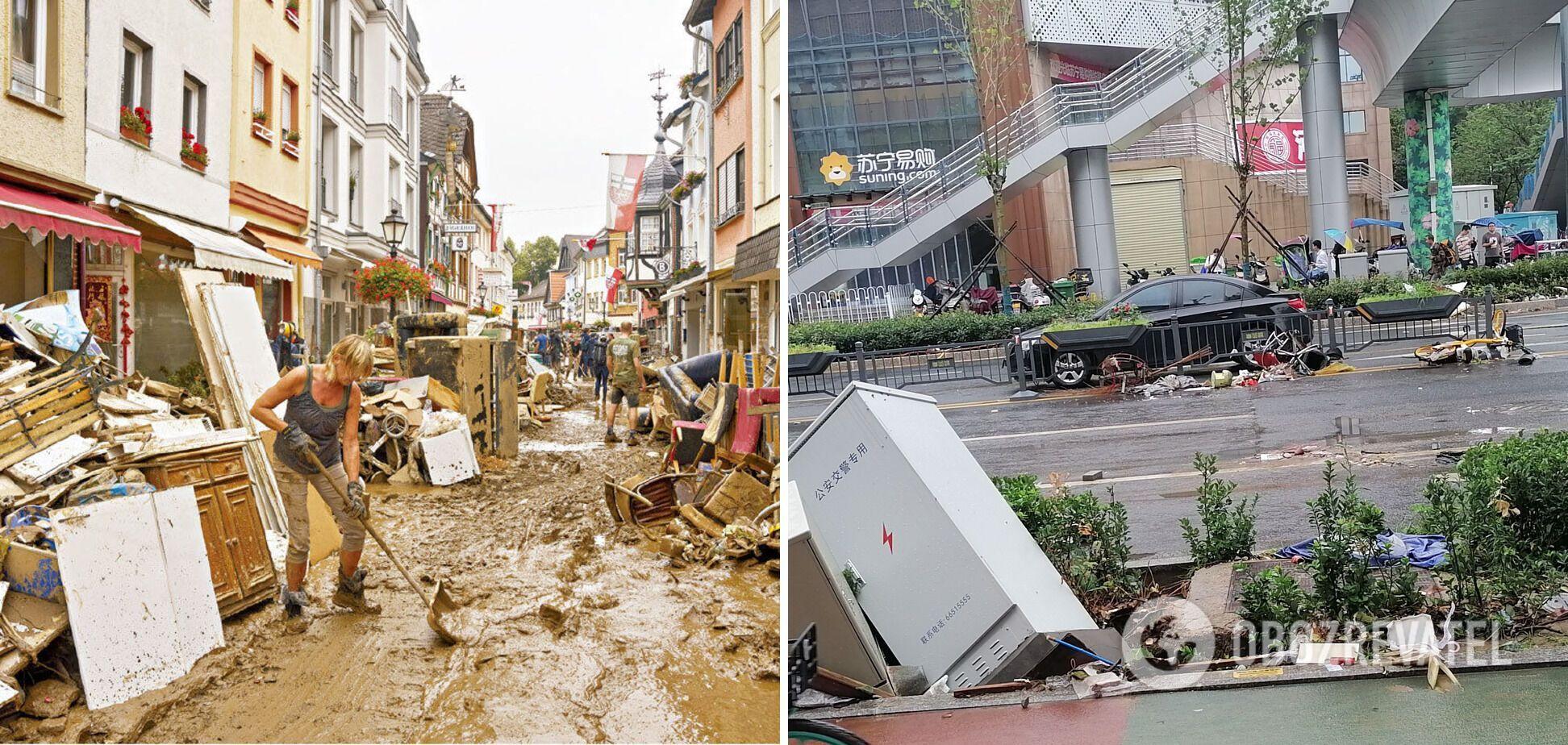 Повінь у провінції Хубей призвела до великих руйнувань