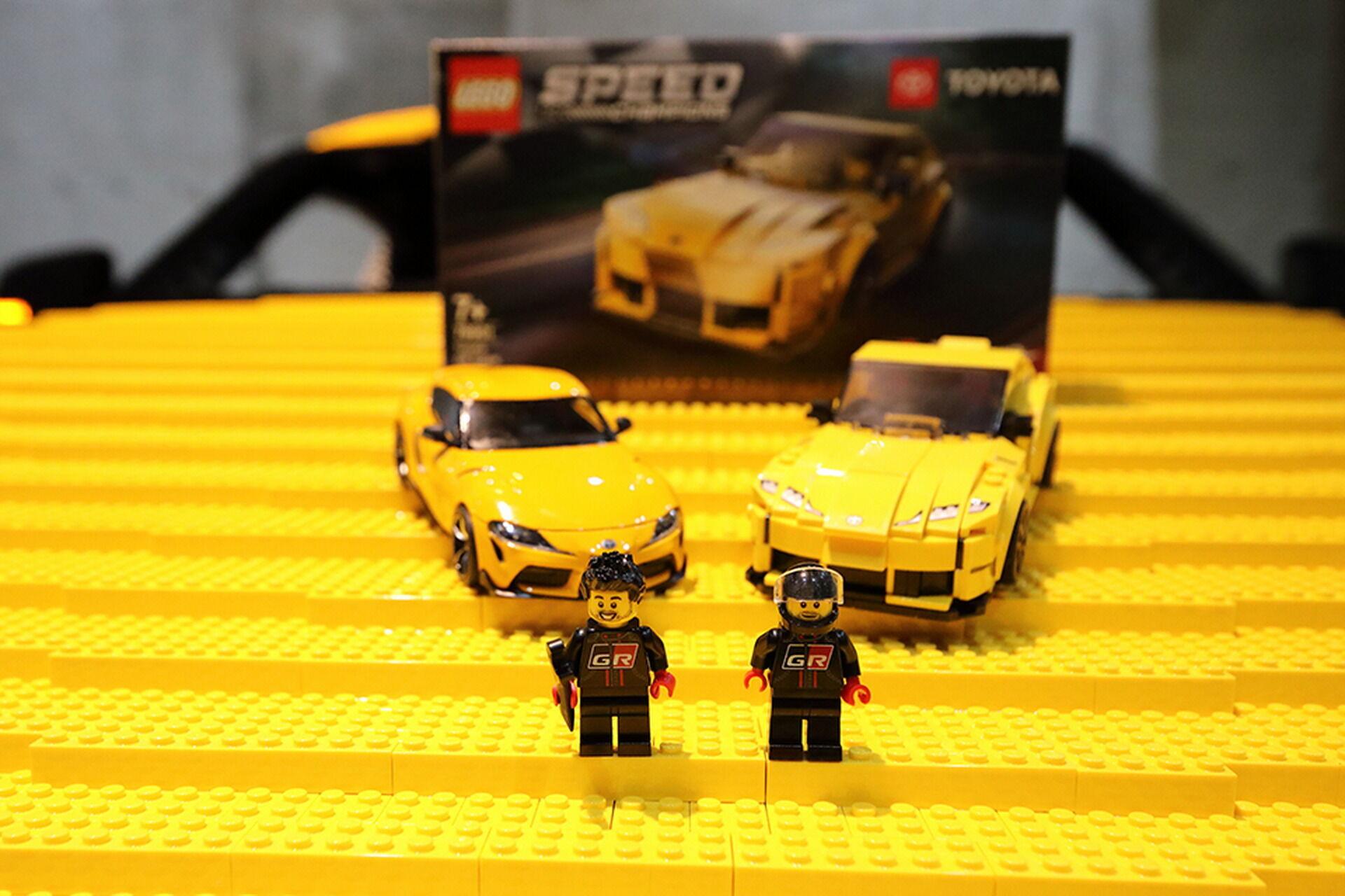 Lego GR Supra виготовлена не на продаж, але компанія може запропонувати мініатюрний варіант в серії Speed Champions за скромну суму в $20
