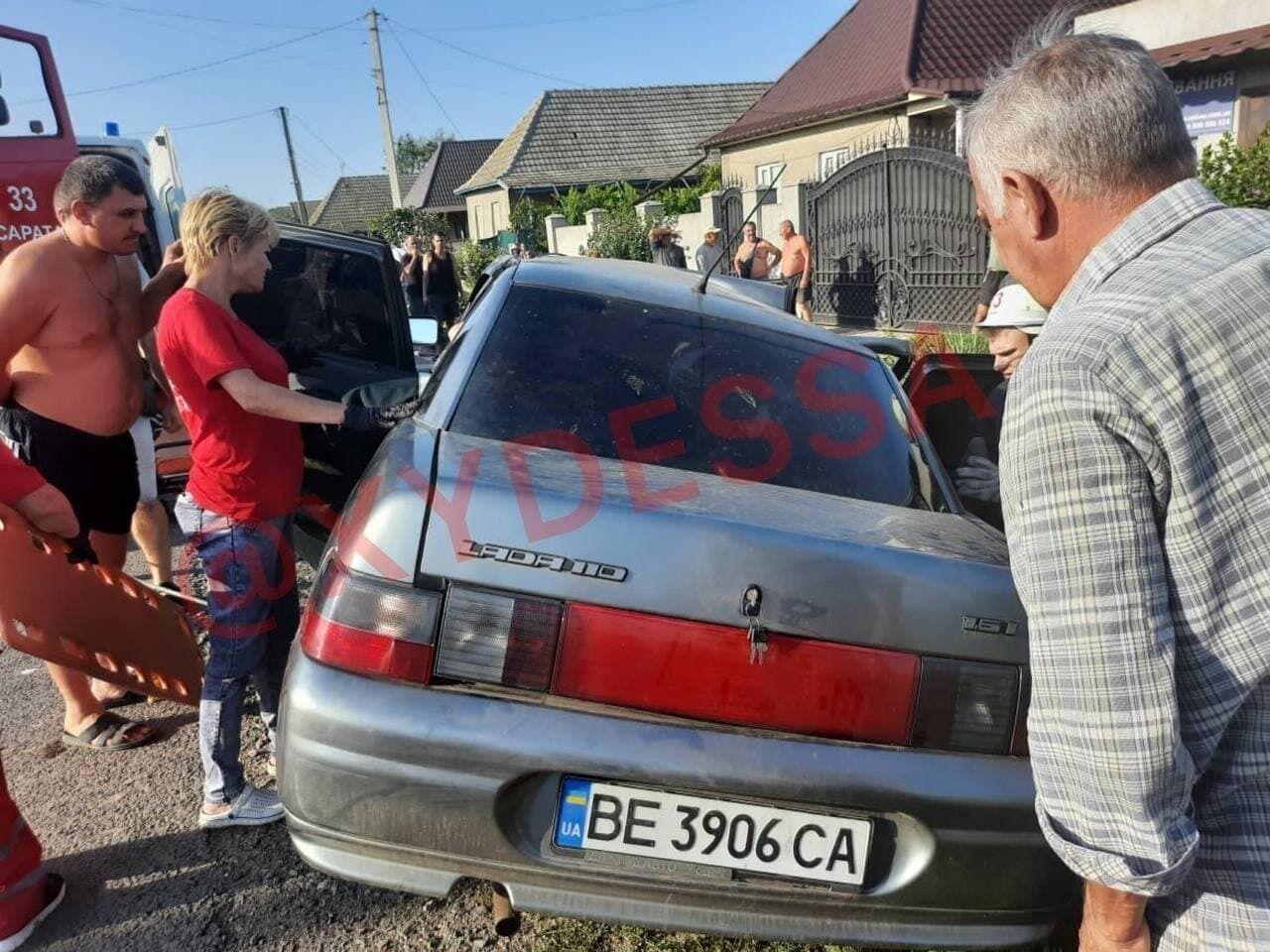 Аварія під Одесою