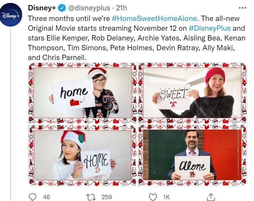 """Disney+: перезавантаження легендарної франшизи """"Home Alone"""""""
