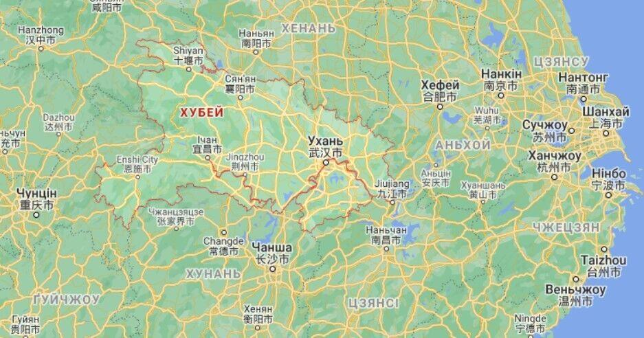 Сильні зливи накрили китайську провінцію Хубей