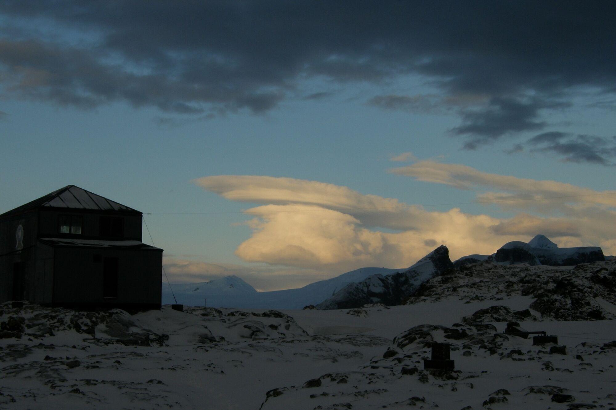 Сочевицеподібні хмари.