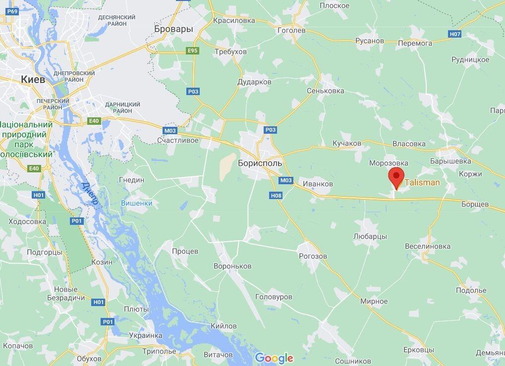 Авария произошла в селе Бзов.