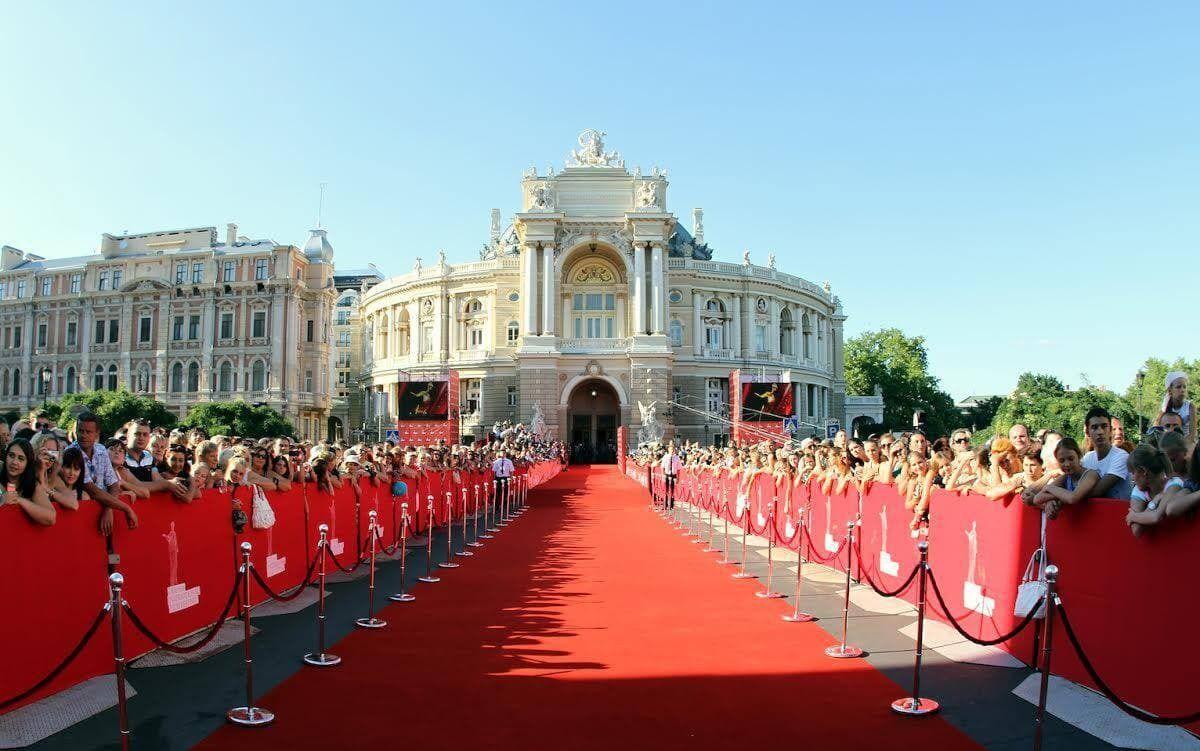 Червона доріжка Одеського кінофестивалю