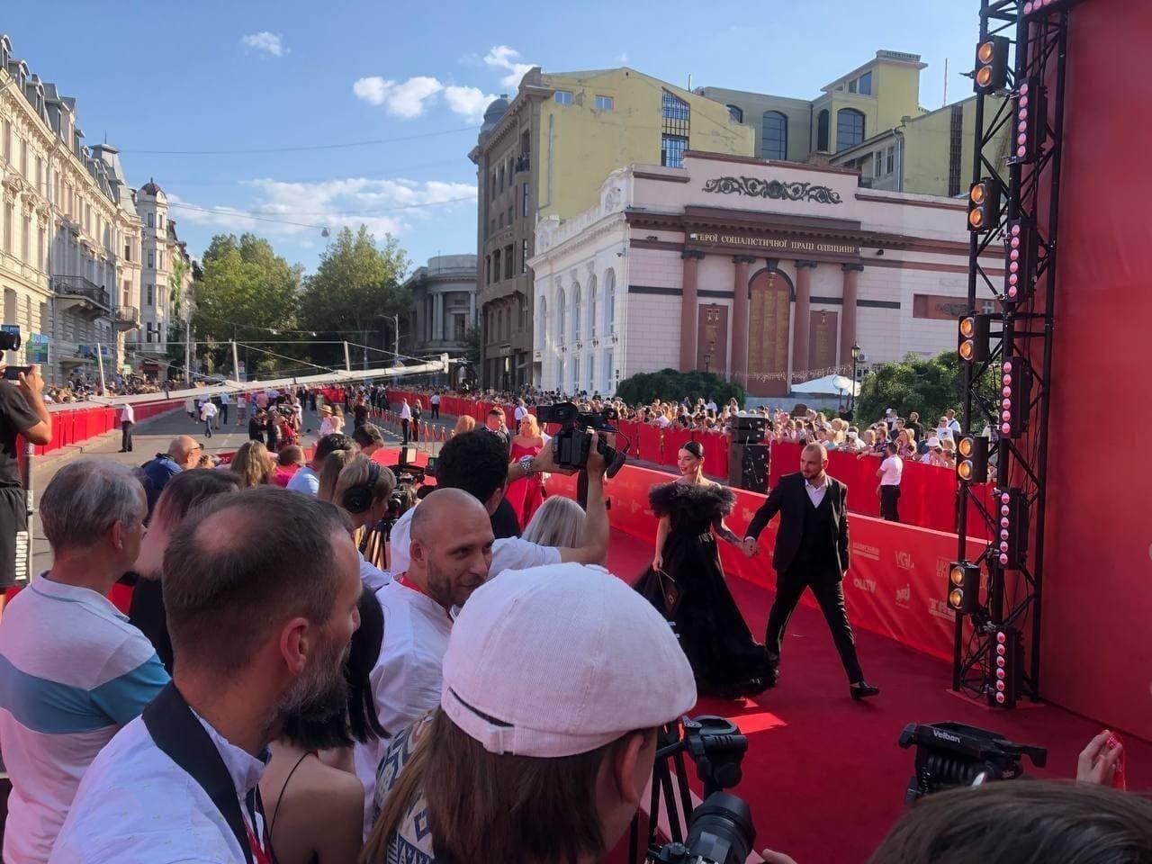 Відкриття Одеського кінофестивалю