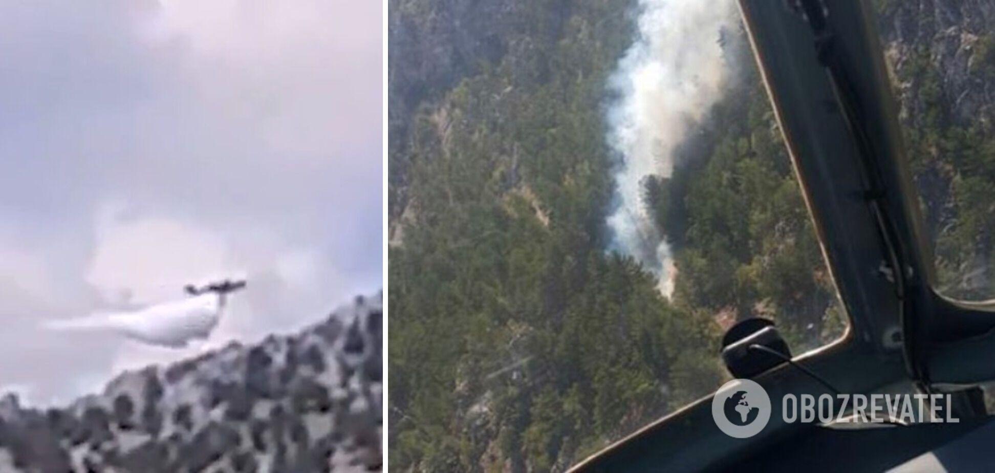 Літак-амфібія Бе-200 розбився в Туреччині