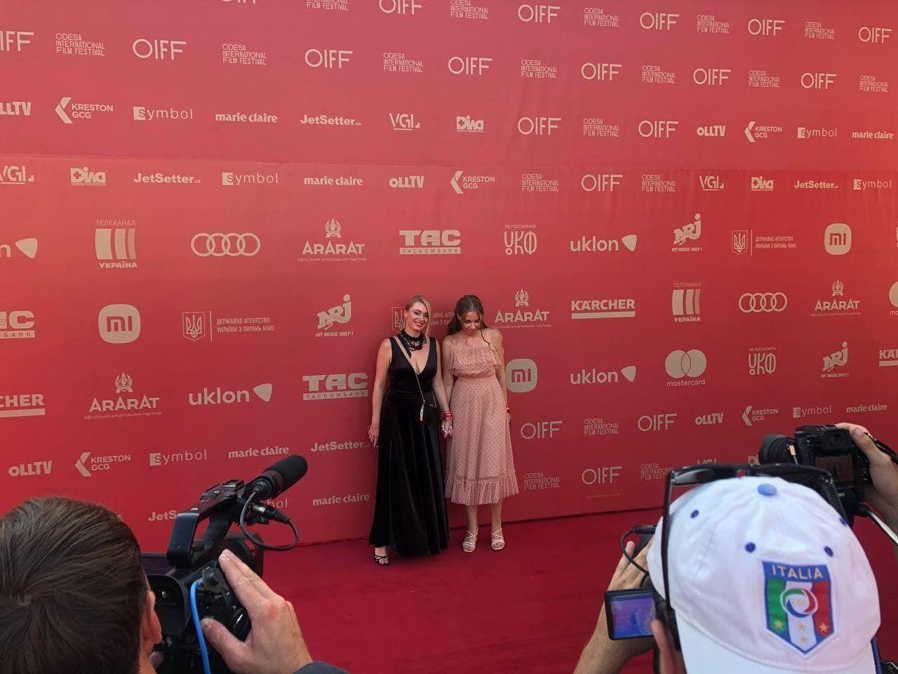 Червона доріжка Одеського міжнародного кінофестивалю