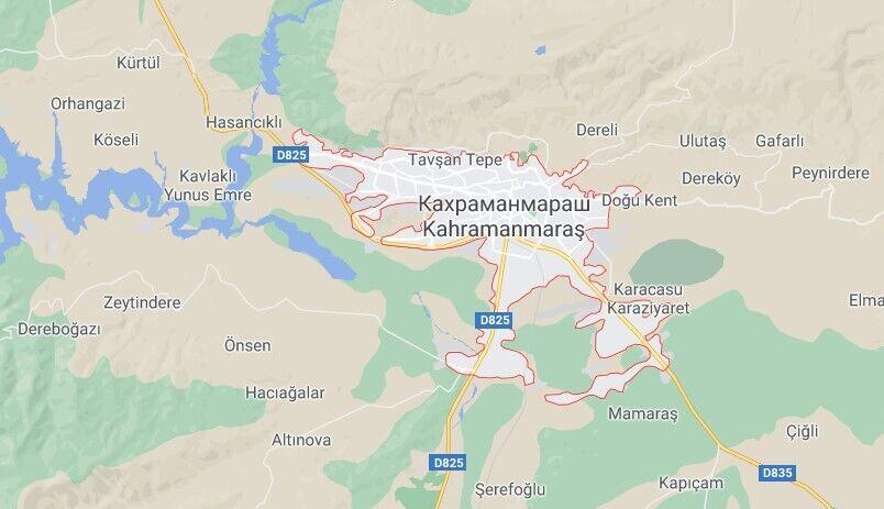 Авіакатастрофа трапилася біля міста Кахраманмараш
