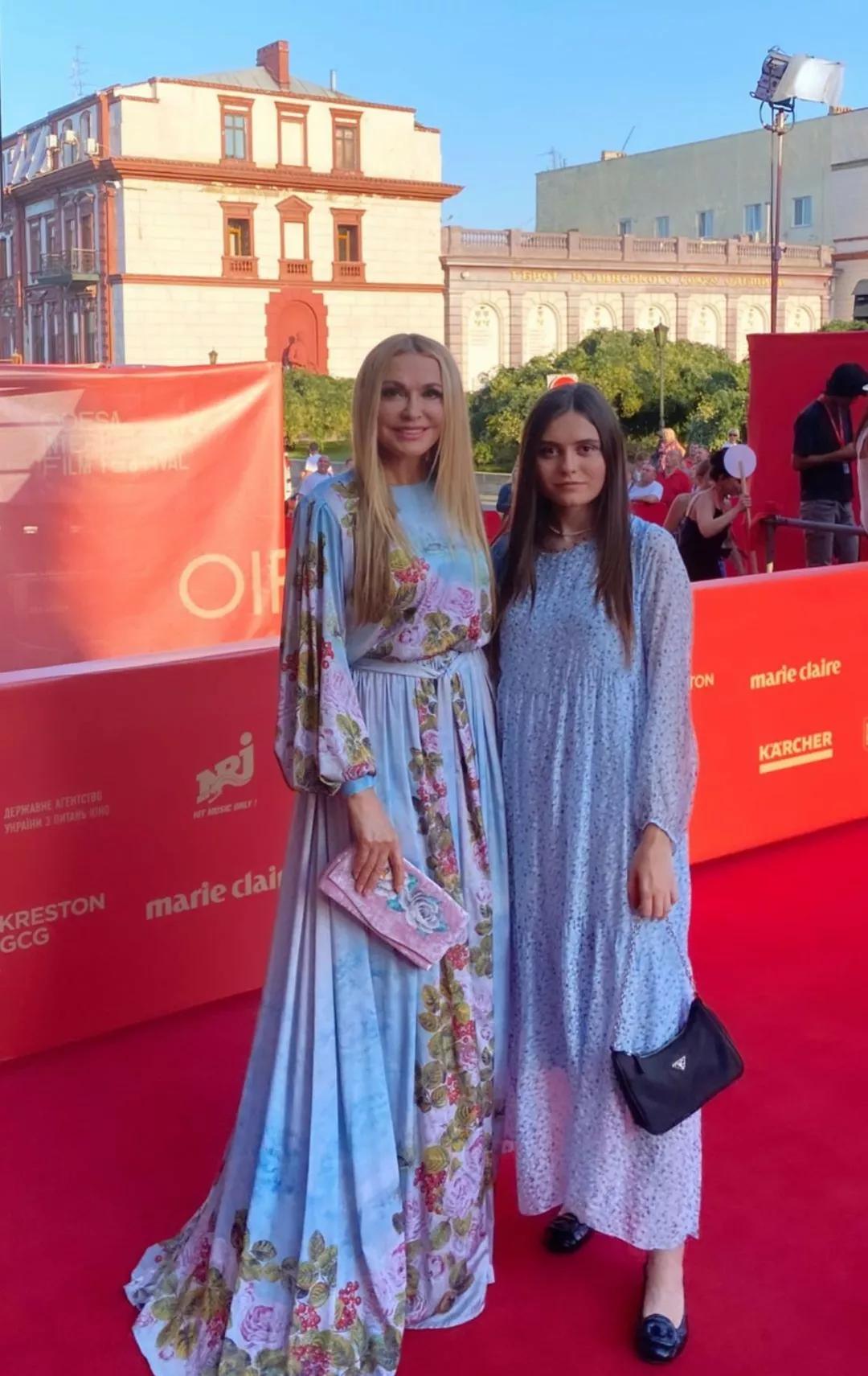 Ольга Сумська з дочкою