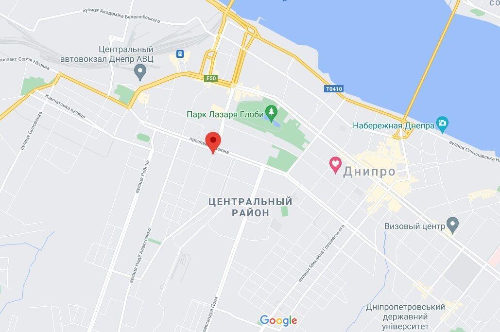 Взрыв произошел на улице Шмидта.
