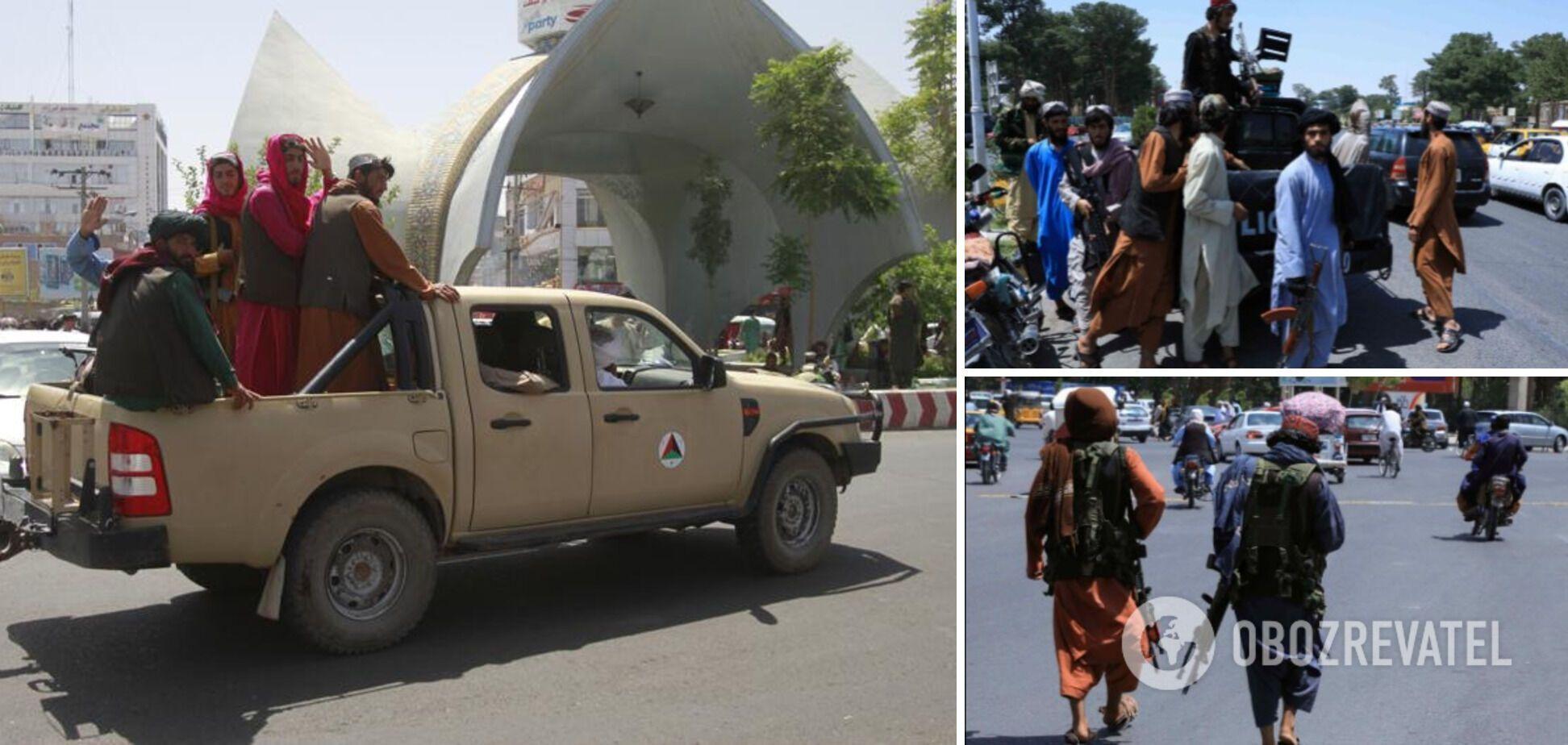 Талибы захватили город Мазари-Шариф в Афганистане