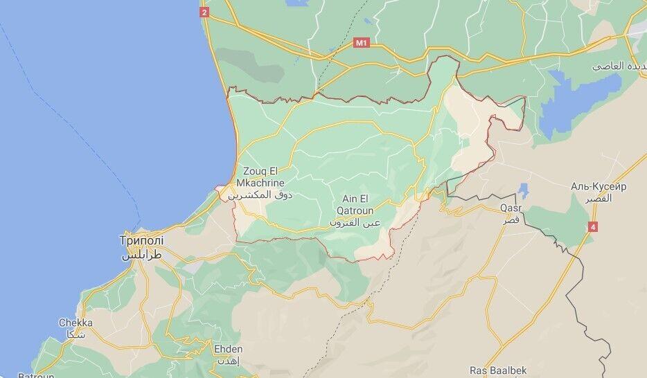 НП трапиася в селі Тлейл району Аккар (Ліван)