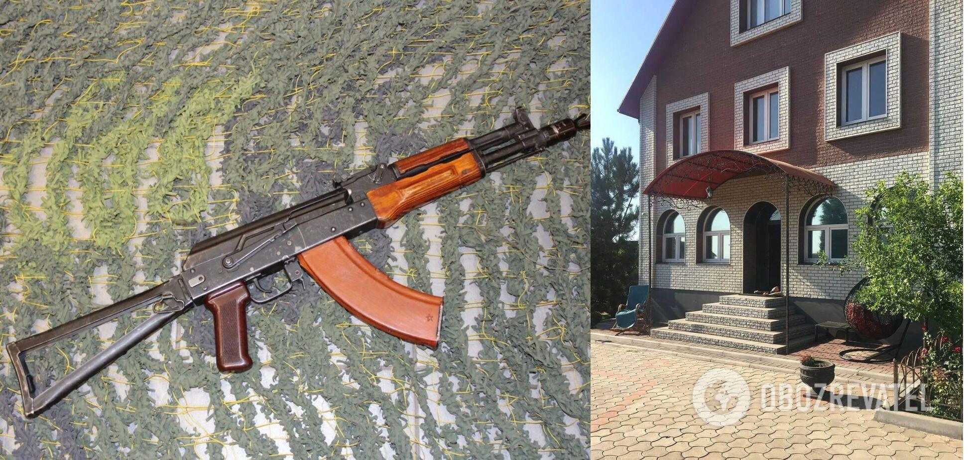 """Охотничий карабин """"Сайга"""" был найден рядом с телом погибшего чиновника"""
