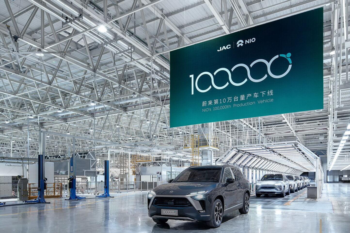 Во втором квартале Nio реализовала около 22 тысяч автомобилей