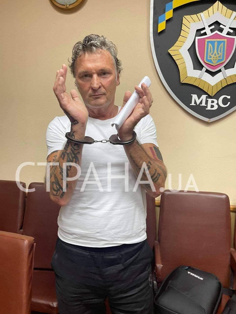 """Лидер партии """"5.10"""" в наручниках"""