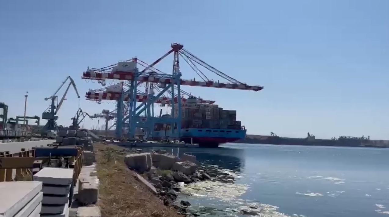 В порту снова задержали партию кокаина.