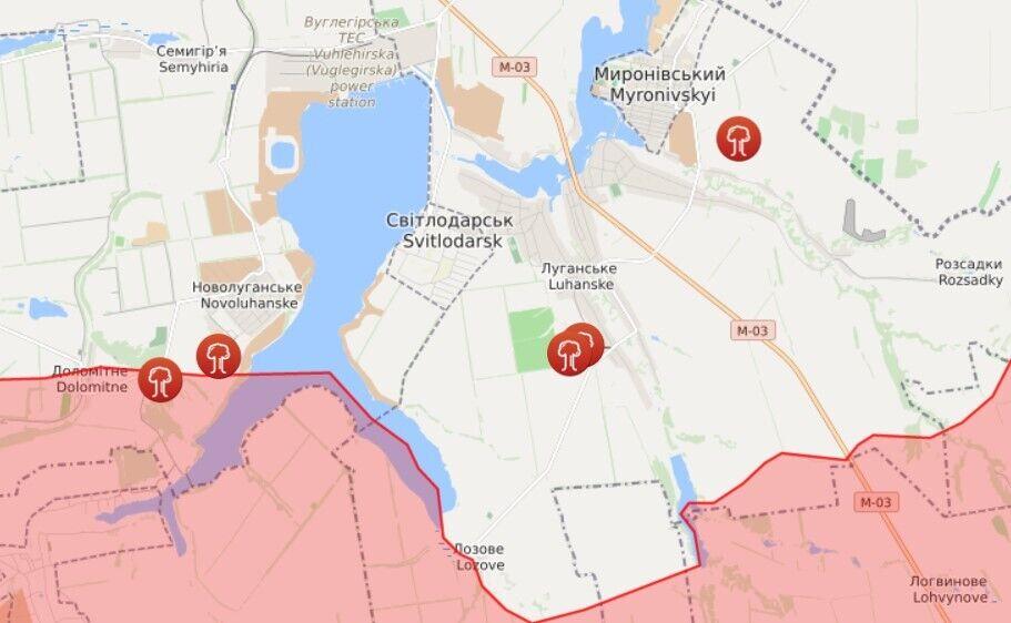Окупанти біля Світлодарська обстрілювали ЗСУ з гранатометів
