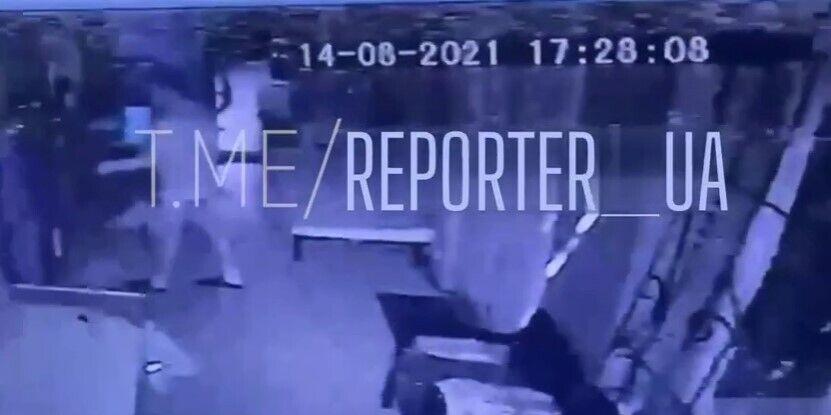 Кадри з камер відеоспостереження