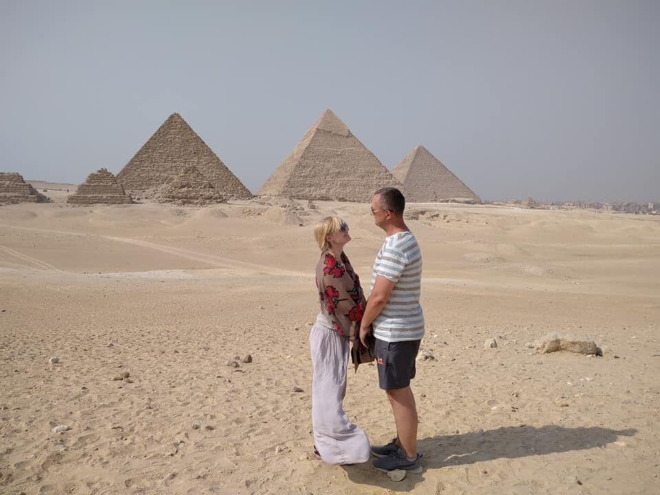 Туристка заявила, что пирамиды разрушаются с каждым днем.