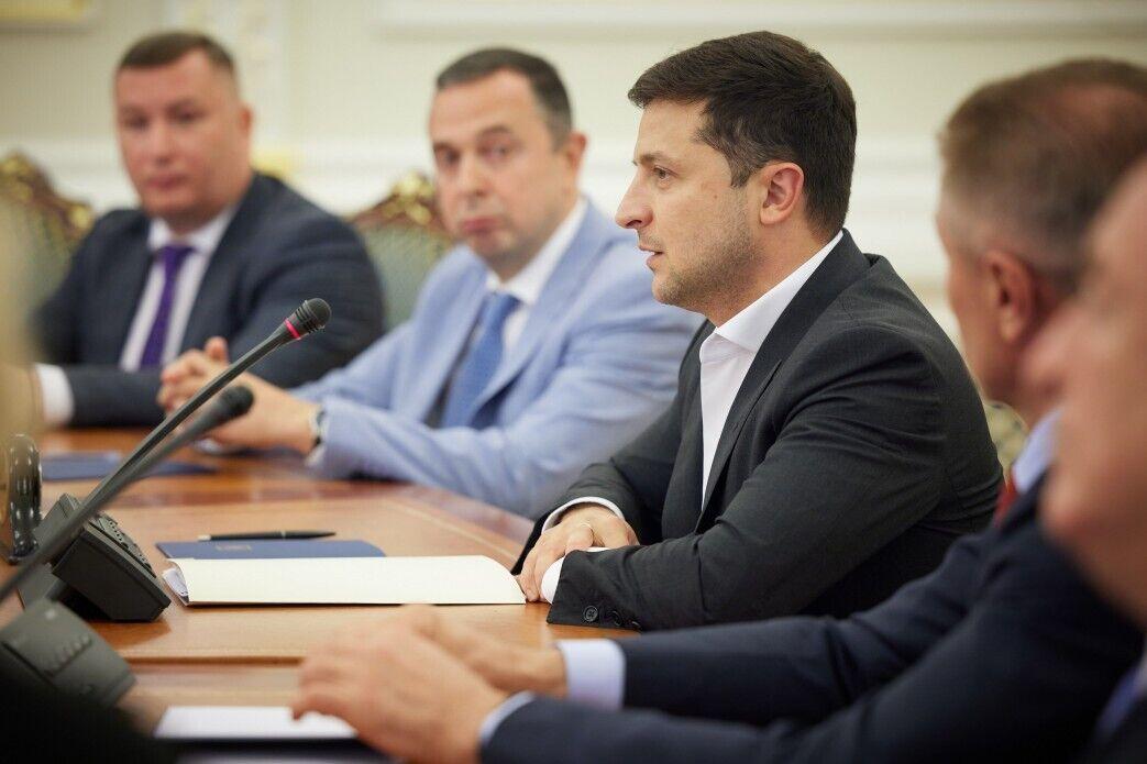 Владимир Зеленский и Вадим Гутцайт