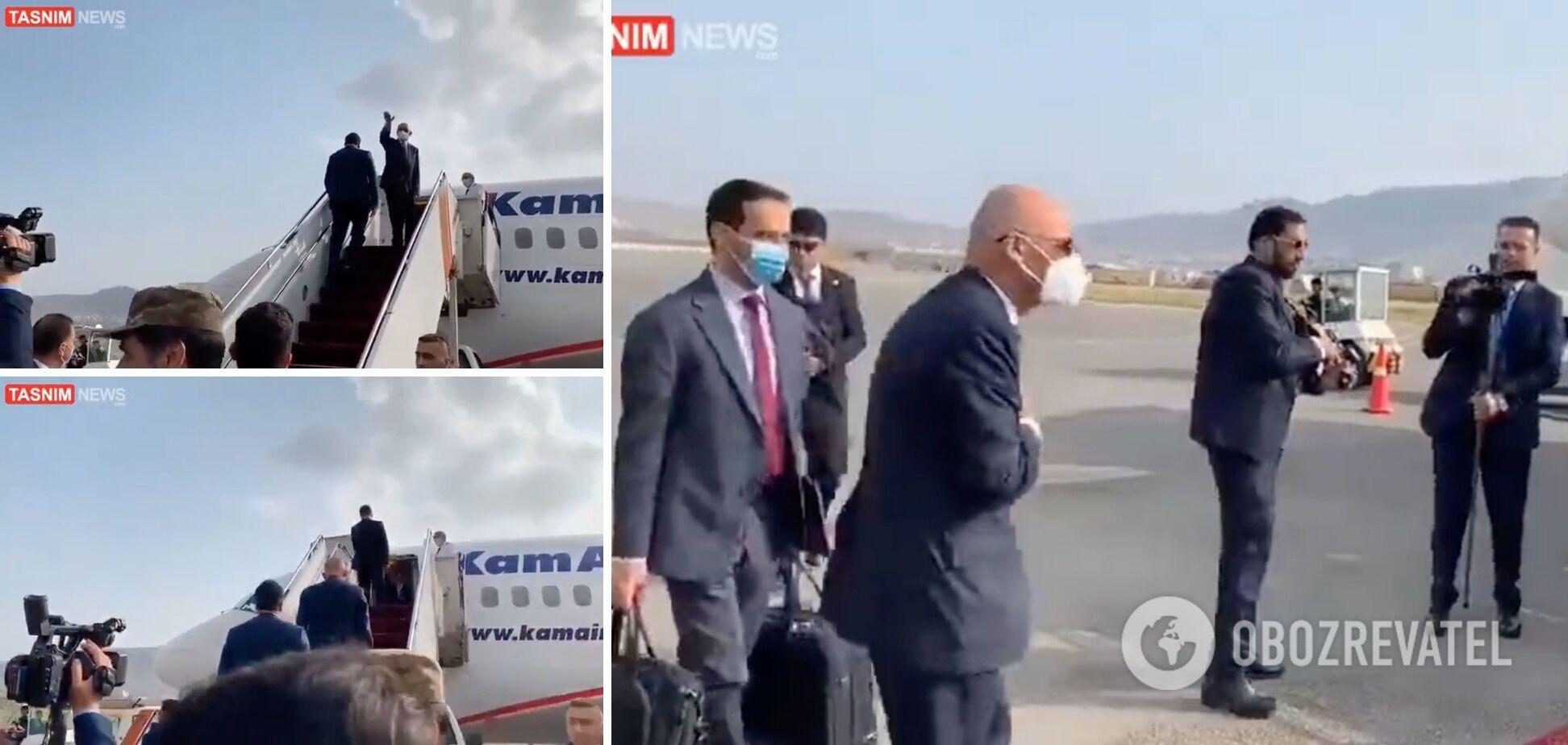 Президент Афганистана покинул страну после прихода талибов