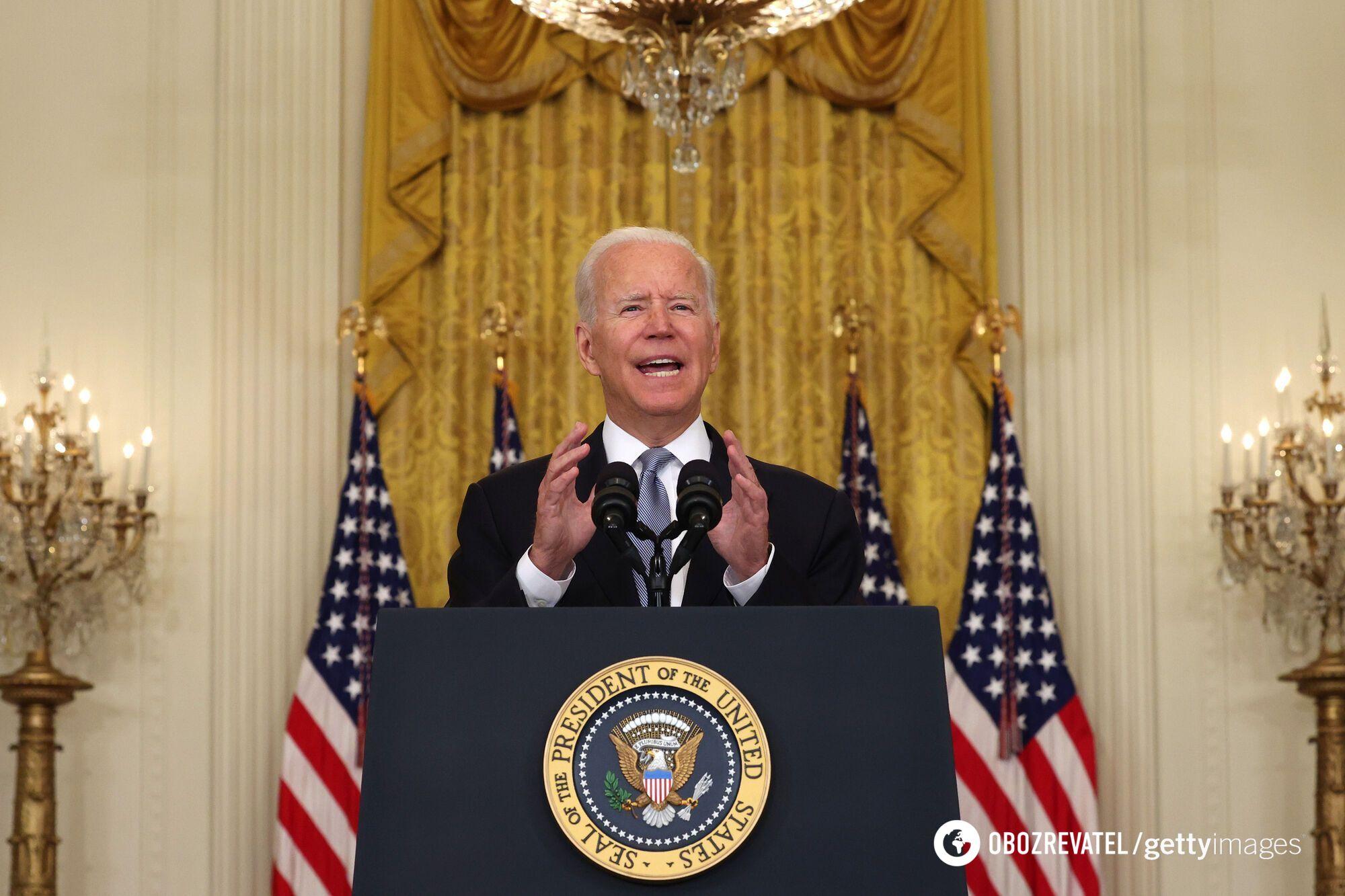 Байден обратился к американцам по поводу ситуации в Афганистане