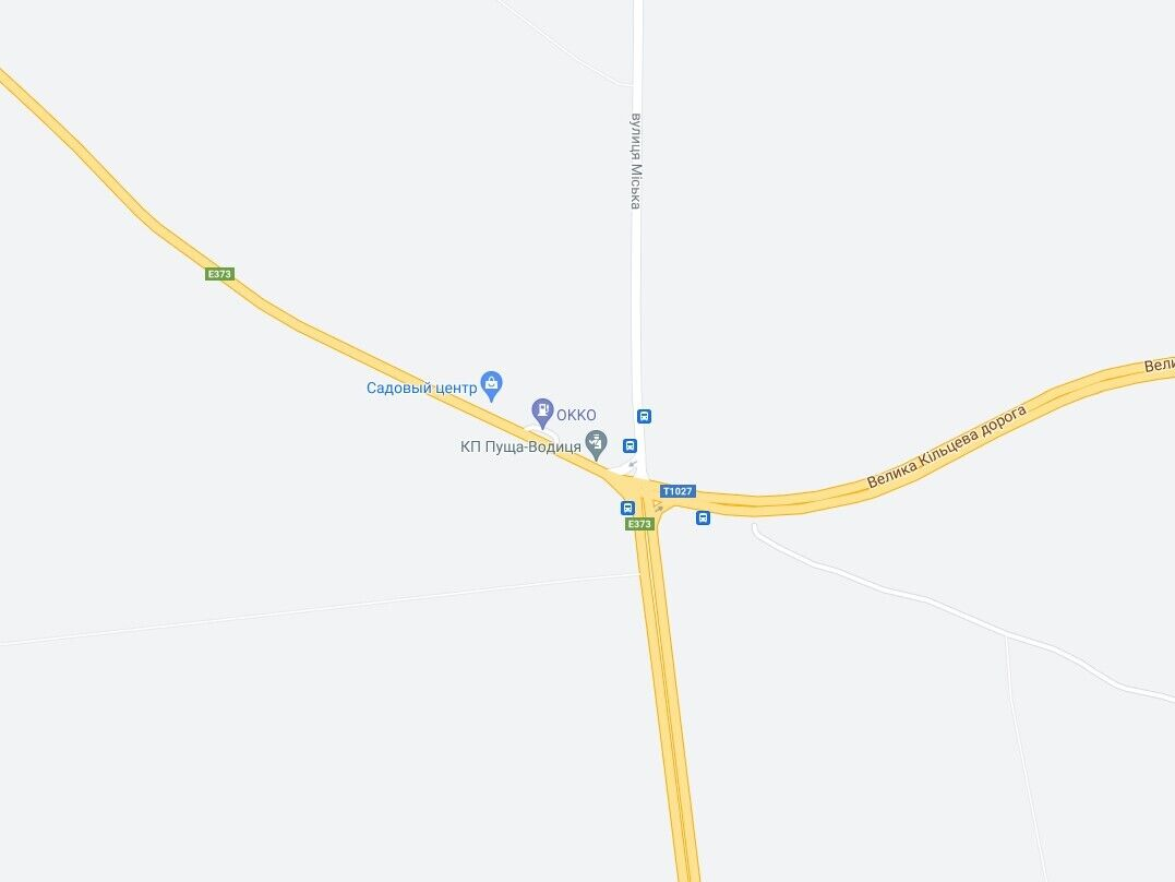 Авария произошла на Гостомельском шоссе.