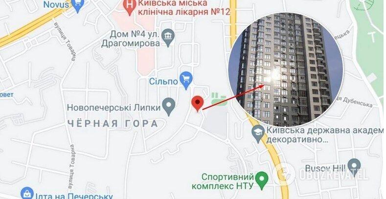 """ЖК """"Новопечерские Липки"""" расположен на ул. М. Драгомирова в Киеве"""