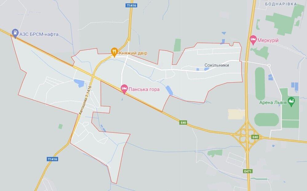 Аварія трапилася біля Сокільників під Львовом