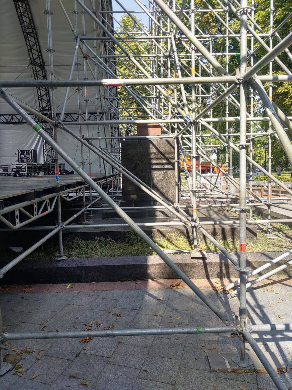Конструкция для концертной сцены