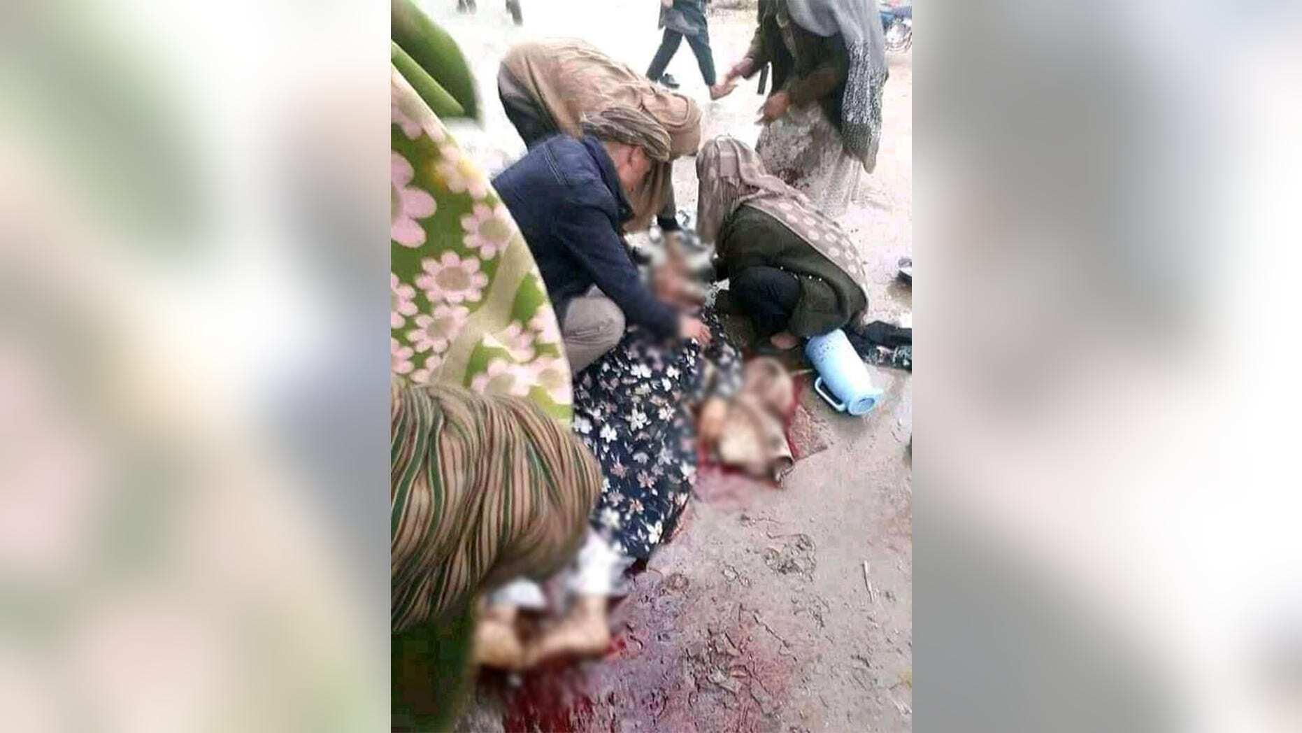 Убийство женщины в провинции Тахар