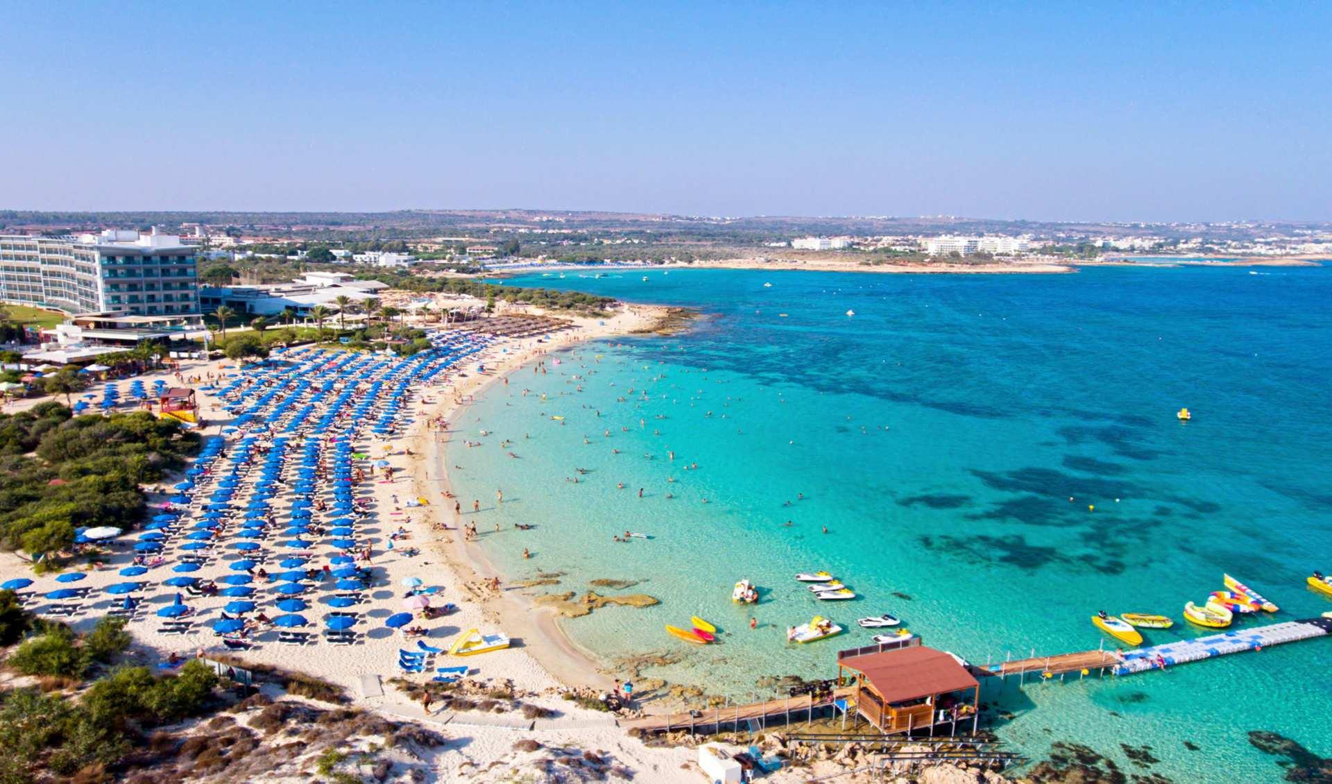Айя-Напа – самый развитый курорт Кипра