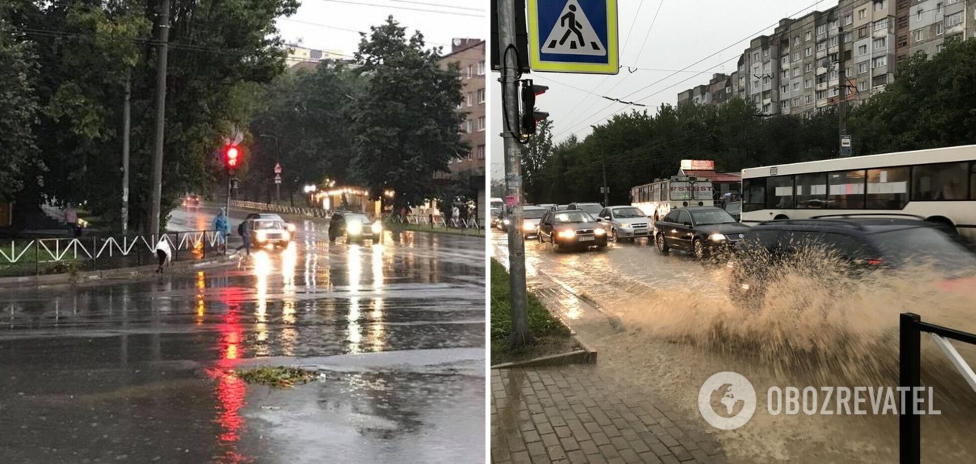 Негода в Хмельницькому