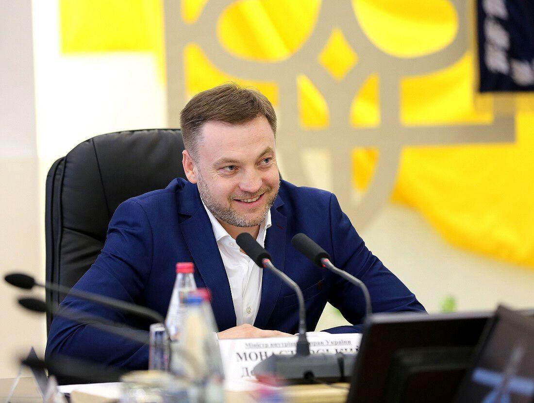 Монастирський нагородив спортсменів-олімпійців, які представляють підрозділи системи МВС України