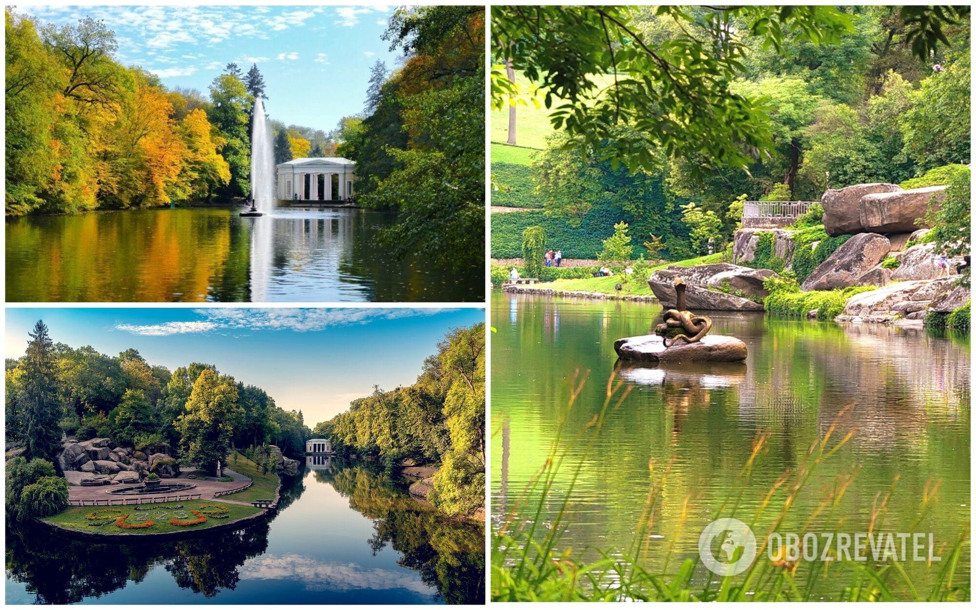 """""""Софиевка"""" – это один из самых известных парков Украины"""