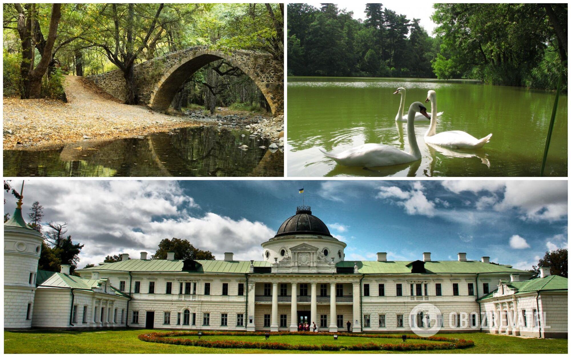 Один из самых больших и красивых дворцов Украины и Восточной Европы находится на Черниговщине, в селе Качановка