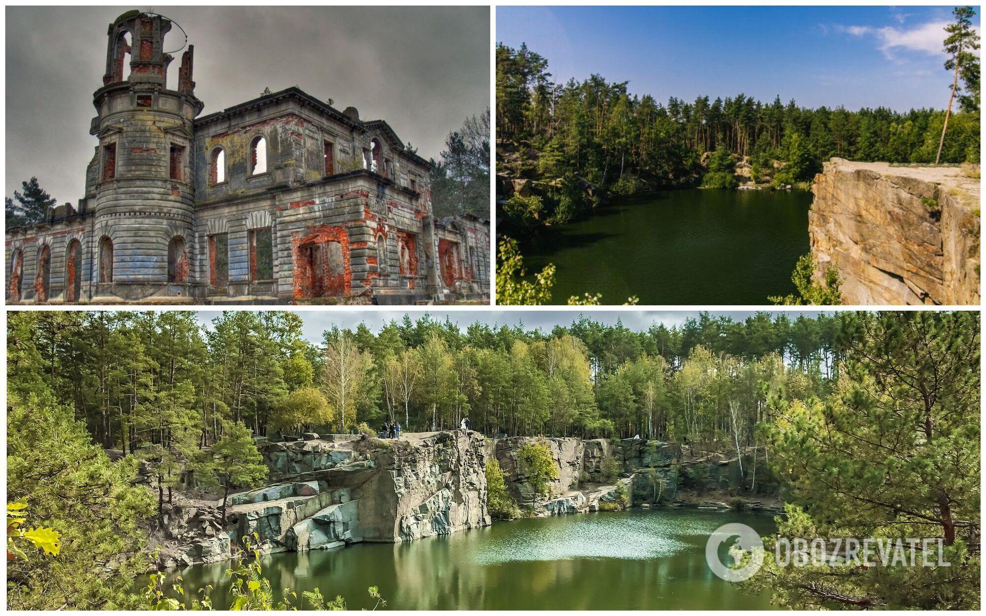 Будучи в Житомире, стоит посетить Житомирский каньон и руины дворца сахарных магнатов Терещенко