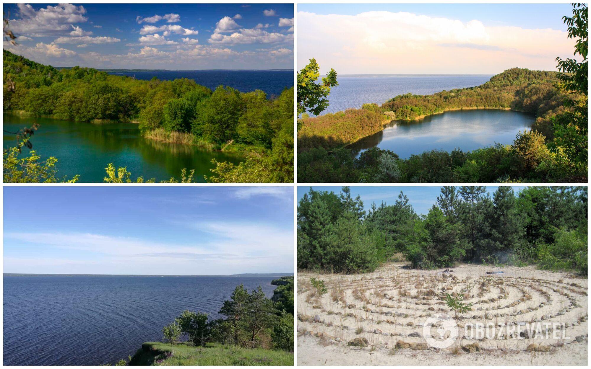 Лесное озеро в Бучаке – это часть недостроенной ГЭС