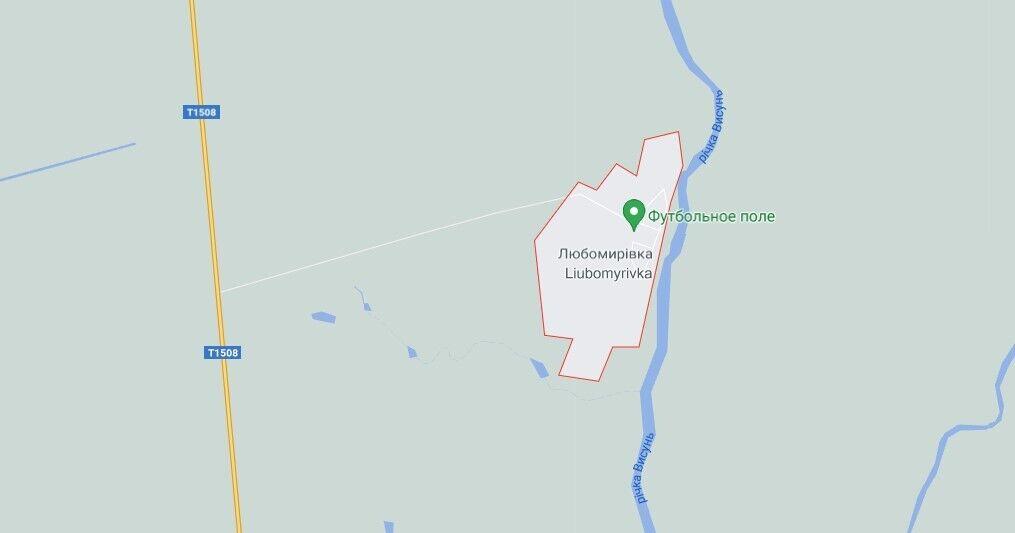 ДТП произошло вблизи села Любомировка