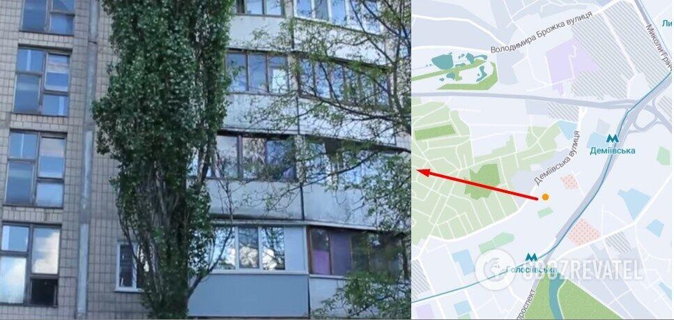 Багатоповерхівка, в якій зґвалтували жінку, розташована на вул. Деміївській