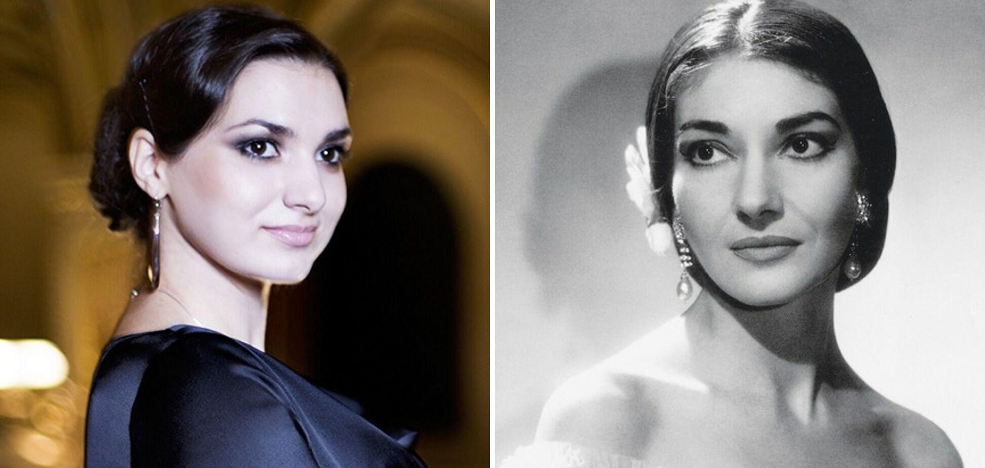 Украинка Лена Белкина и гречанка Мария Каллас: найдите 10 отличий.