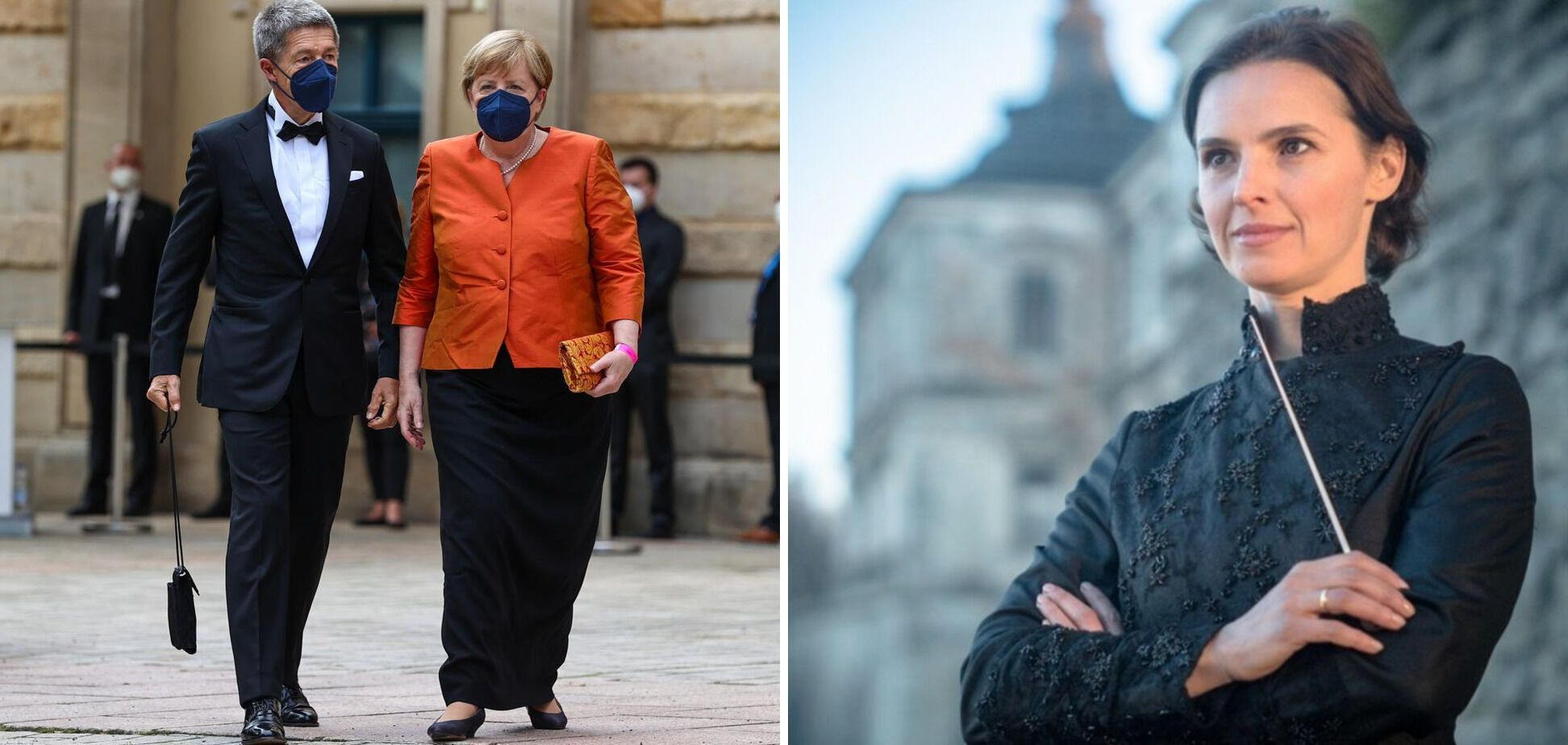 Фрау Меркель спешит на выступление фрау Лынив. Лидер Германии не пропускает Байройтский фестиваль.