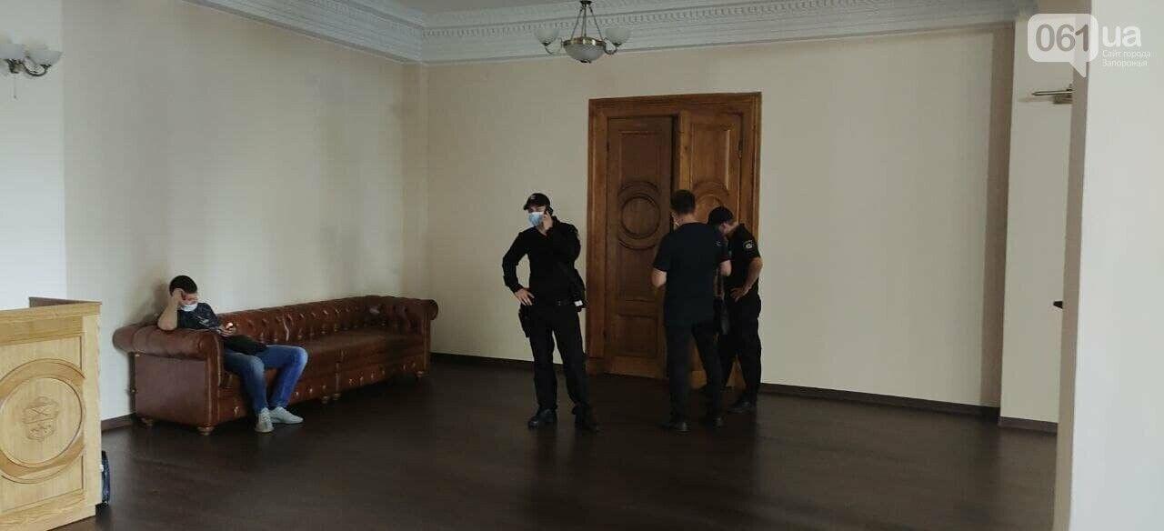 Обыск в Запорожском городском совете