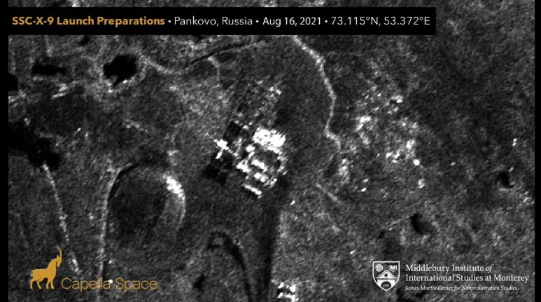 Новий супутниковий знімок