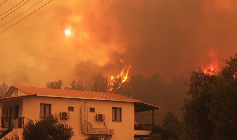Огонь приблизился к ТЕС.