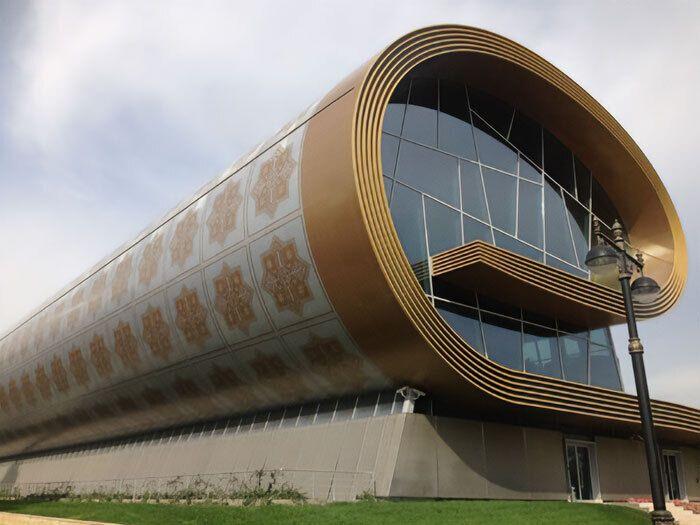 Національний музей коврів в місті Баку, Азербайджан