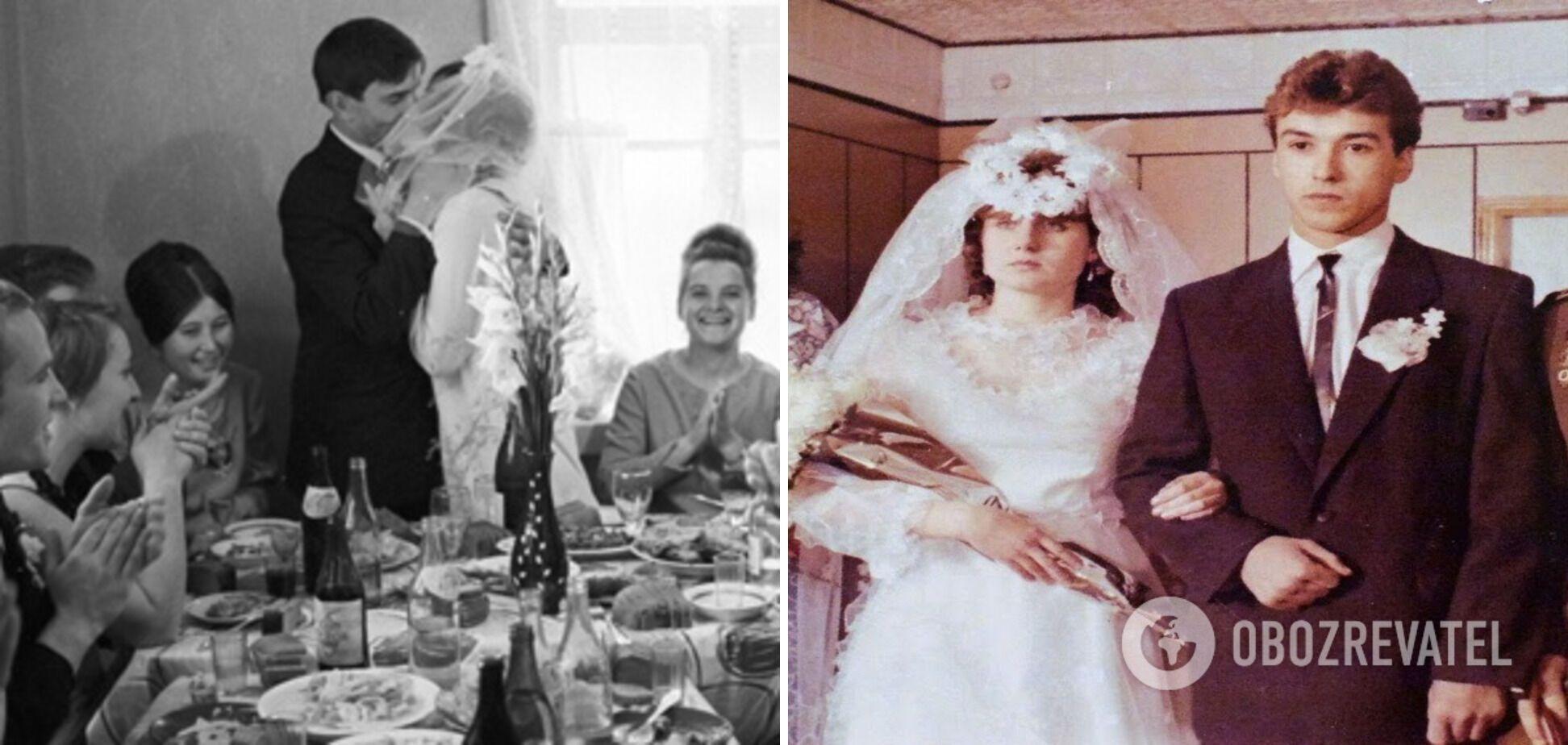 В СРСР було багато дивакуватих традицій на весіллі